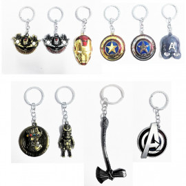 image of Marvel The Avengers Hero Keychain