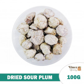 image of Dried Sour Plum 酸梅 100G