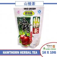 image of GE XIAN WENG Hawthorn Herbal Tea 葛仙翁山楂茶 16 X 10G