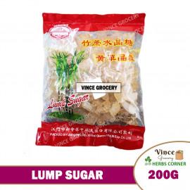image of Lump Sugar (Brown) 竹蔗水晶糖 200G
