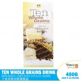 image of HEI HWANG Ten Whole Grains Drink | 黑王十谷米即冲即溶食品 450G