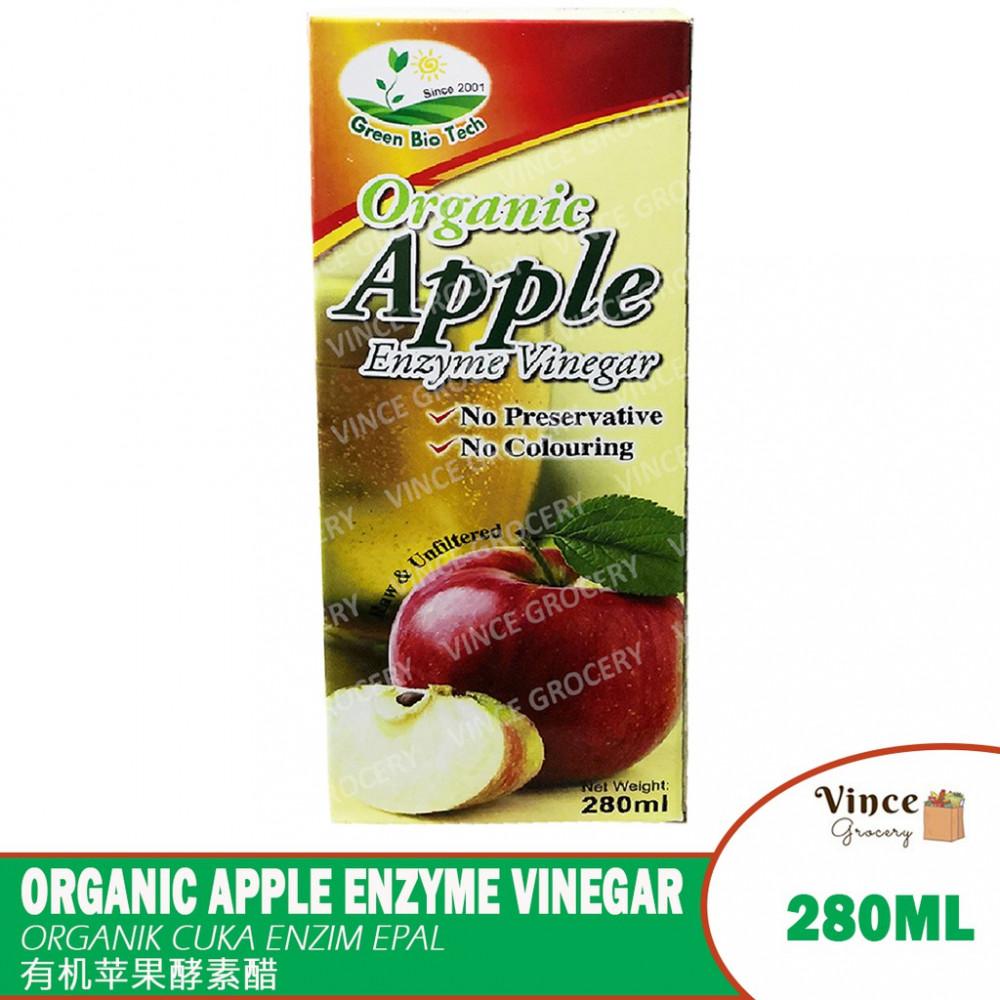 GREEN BIO TECH Organic Apple Enzyme Vinegar | 有机苹果酵素醋 280ML