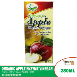 image of GREEN BIO TECH Organic Apple Enzyme Vinegar | 有机苹果酵素醋 280ML