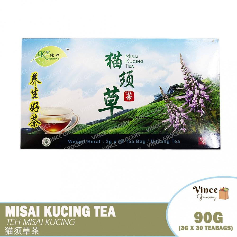 KENRIXS Misai Kucing Tea | 健力猫须草茶 3G X 30'S