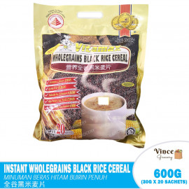 image of VITAMAX Wholegrain Black Rice Cereal | 全谷黑米麦片 30G X 20'S