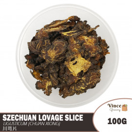 image of Szechuan Lovage Slice (Chuan Xiong) | 川芎片 100G