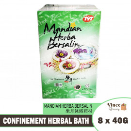 image of TYT Confinement Herbal Bath | Mandian Herba Bersalin | 坐月沐浴药材 8s x 40G