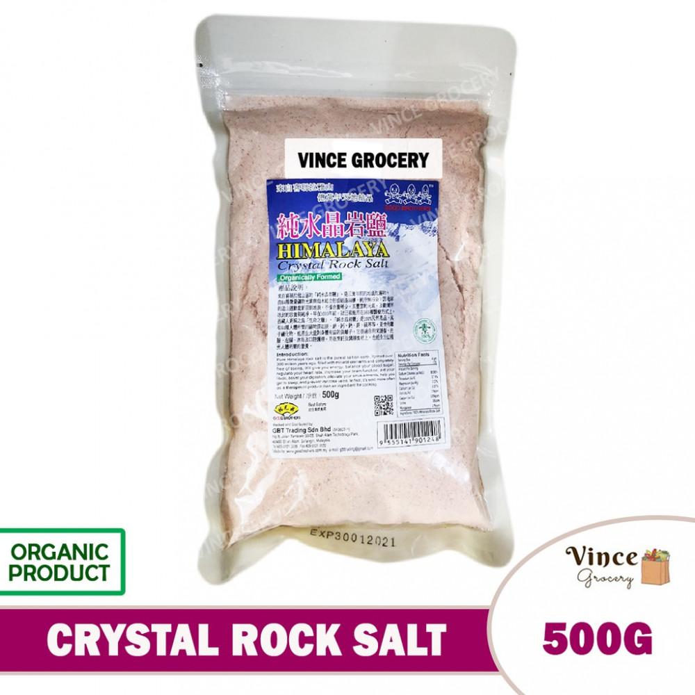 GREEN BIO TECH Himalaya Crystal Rock Salt 500G