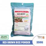 GREEN BIO TECH Red Brown Rice Powder 红糙米粉 350G