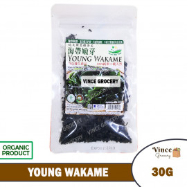 image of GREEN BIO TECH Young Wakame 海带嫩芽 30G