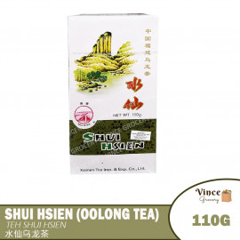 image of SEA DYKE BRAND Shui Hsien Oolong Tea 海堤牌水仙乌龙茶 110G