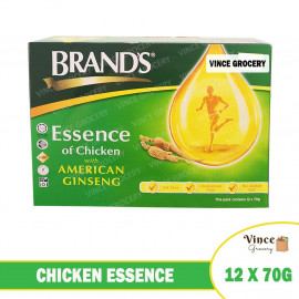 image of BRAND'S Chicken Essence with American Ginseng 12 x 70G