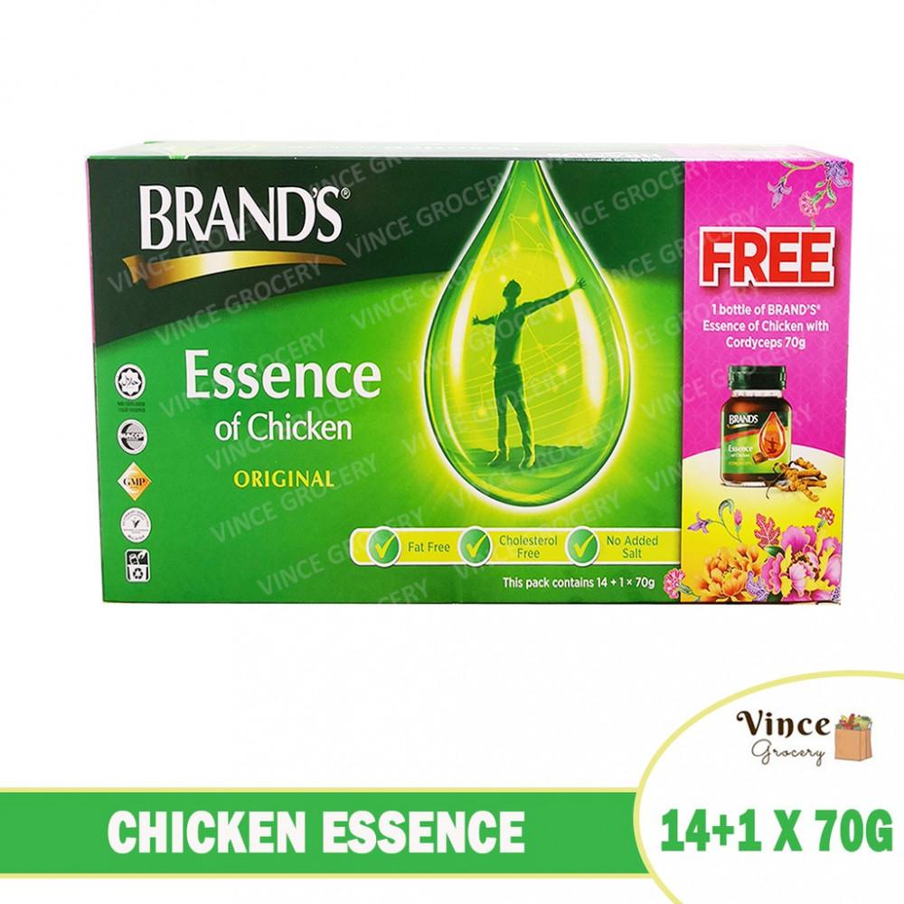 BRAND'S Chicken Essence 14+1 x 70G (Free Chicken Essence with Cordyceps x 1)