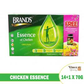 image of BRAND'S Chicken Essence 14+1 x 70G (Free Chicken Essence with Cordyceps x 1)