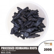 image of Processed Rehmannia Roots (Shu Di) | 熟地 (切条) 200G