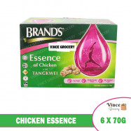 image of BRAND'S Chicken Essence with Tangkwei 6 x 70G