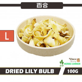image of Dried Lily Bulb (Large) 百合 (大) 100G