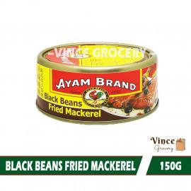 image of AYAM BRAND Black Beans Fried Mackerel 150G