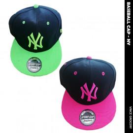 image of NY Men Women Unisex Baseball Cap
