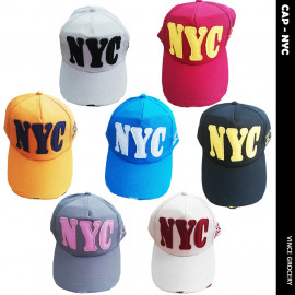 image of NYC Adjustable Men Women Unisex Baseball Cap