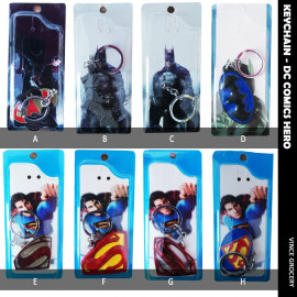 image of Batman & Superman DC Comics Hero Keychain