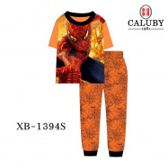 image of Caluby Pyjamas Spiderman (Short Sleeves) Kidswear