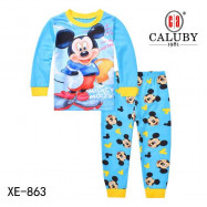 image of Caluby Pyjamas Mickey Mouse (Long Sleeves) Kidswear