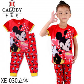 image of Caluby Pyjamas Minnie Mouse (Short Sleeves) Children Apparel