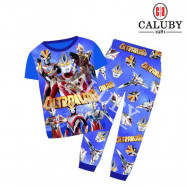 image of Caluby Pyjamas Ultraman (Short Sleeves) Baju Tidur
