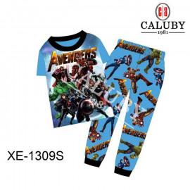 image of Caluby Pyjamas Avengers (Short Sleeves) Kidswear