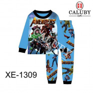 image of Caluby Pyjamas Avengers (Short Sleeves) Kidswear