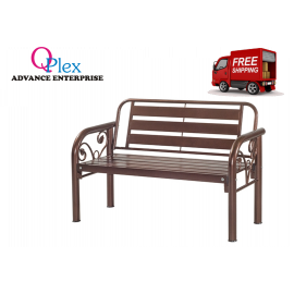 image of 4' METAL BENCH CHAIR (FREE SHIPPING)