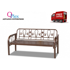 image of 5' METAL LONG BENCH CHAIR (FREE SHIPPING)