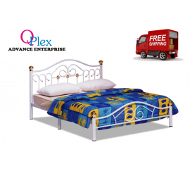 image of METAL QUEEN  BED (FREE SHIPPING)