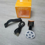 GIYO L200 LED USB Rechargeable Bicycle Rear Light