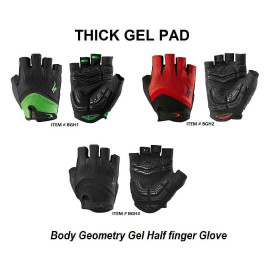 image of Body Geometry Gel Half Finger Glove