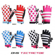image of DHS TICTACTOE HALF FINGER GLOVE