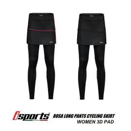 image of I-SPORTS ROSA LONG PANTS CYCLING SKIRT