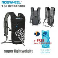 image of ROSWHEEL 1.5L HYDRAPACK BACKPACK + FREE 1.5L BLADDER