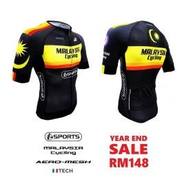 image of Malaysia Cycling Aero-Mesh Jersey