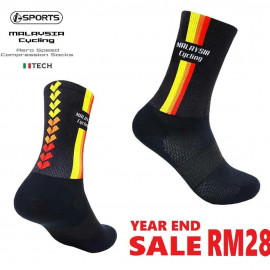 image of Malaysia Cycling Aero Speed Compression Socks