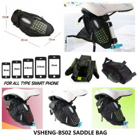 image of VSHENG-BS02 SADDLE BAG