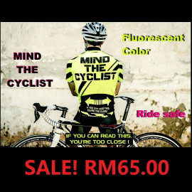 image of MIND THE CYCLIST FLUORESCENT JERSEY