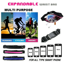image of SPORTS EXPANDABLE WAIST BAG