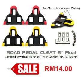 image of Road SPD-SL Cleat set 6 Degrees of float