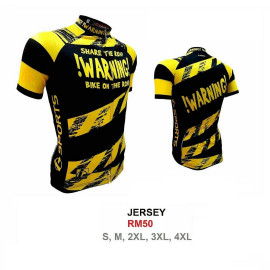 image of WARNING!!! Jersey (SHARE THE ROAD)