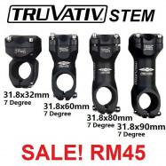 image of TRUVATIV SRAM ALLOY STEM - 31.8mm x 90mm
