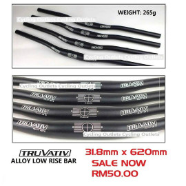 image of TRUVATIV SRAM ALLOY LOW RISE BAR 31.8mm x 620mm