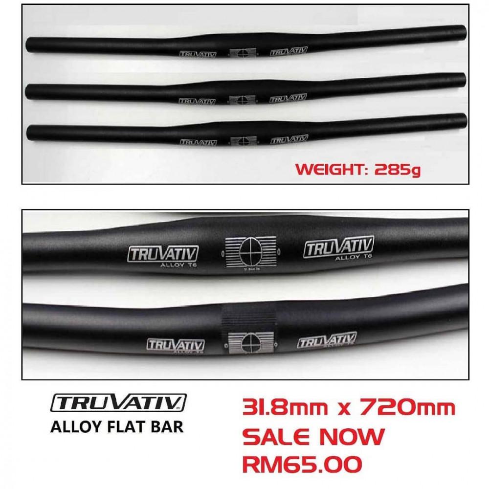 TRUVATIV SRAM ALLOY FLAT BAR 31.8mm x 720mm