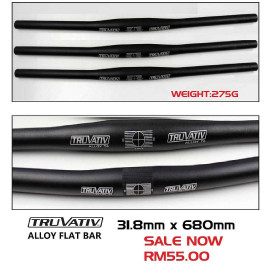 image of TRUVATIV SRAM ALLOY FLAT BAR 31.8mm x 680mm